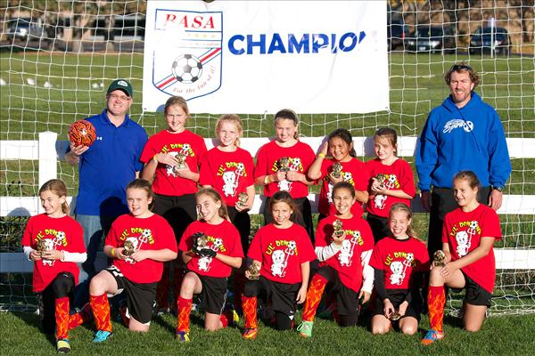 U11 Spirit Girls Champions