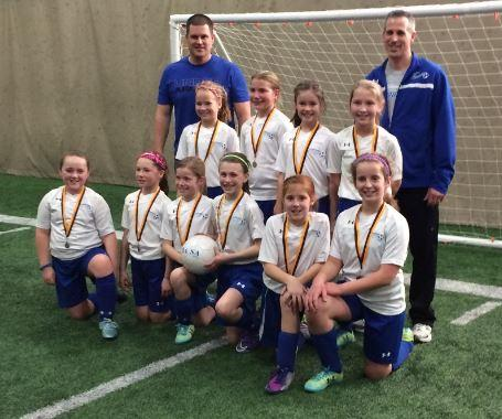 U10 Girls CMU Champs