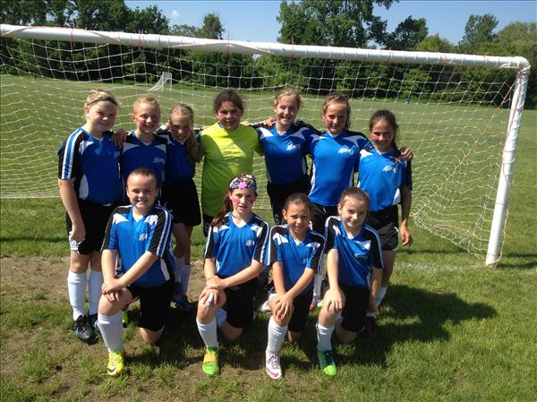 2014 Spring U10 Spirit White Undefeated