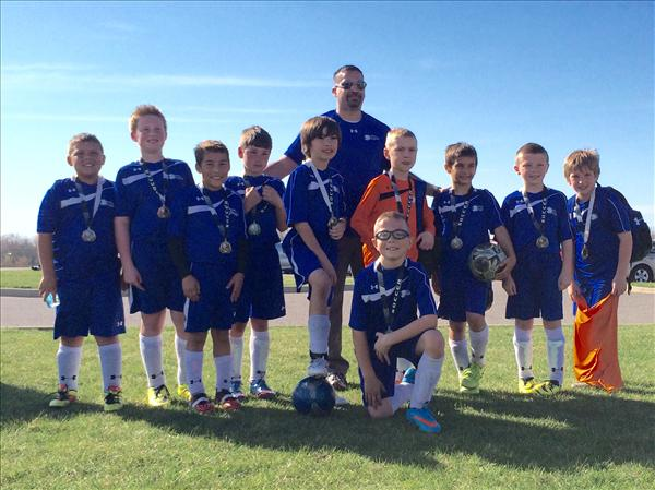 U9 Boys White Capital City Cup Champs