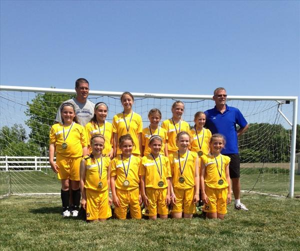 2014 Spring U11 Spirit '03 Undefeated Champs