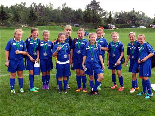U12 Spirit Girls Runners Up