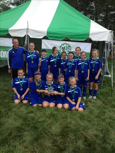 U12 Girls White Finalists