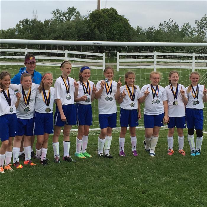 U12 Girls MMYSL White