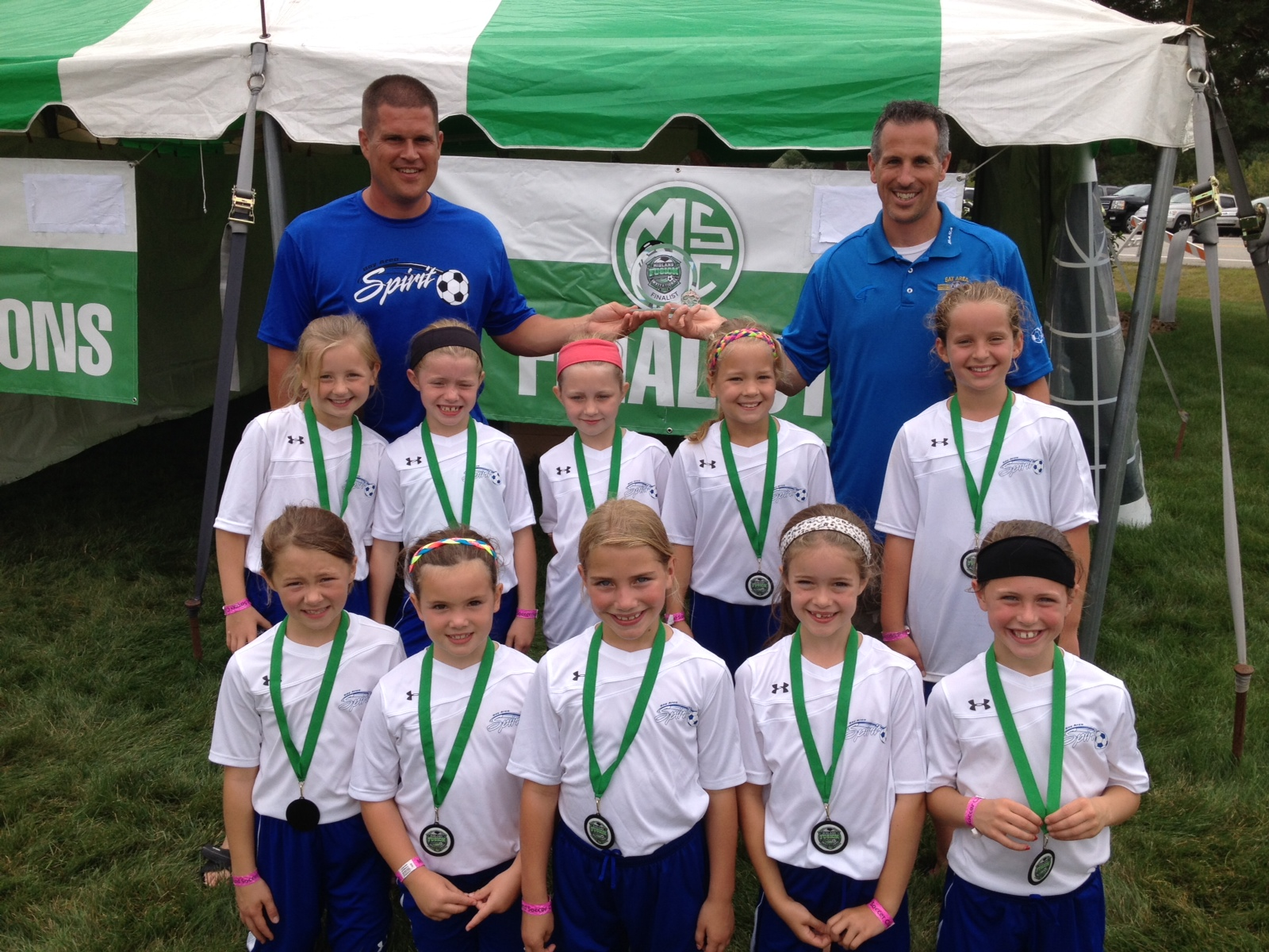 U9 Girls Runners Up